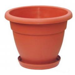 Pot Plastic With Tray