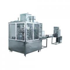 Automatic Rotary Bottle Rinsing Filling &