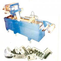 Flat Bed Blister Pack Machine