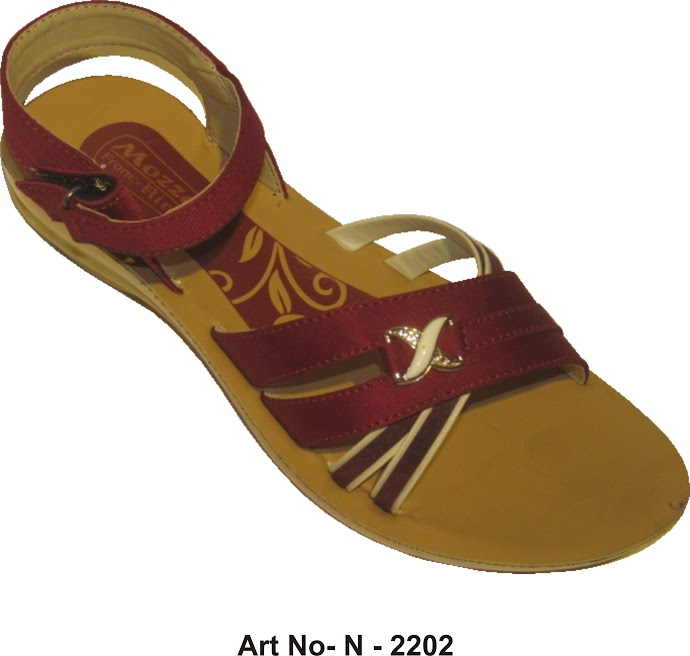 maroon_color_women_sandal