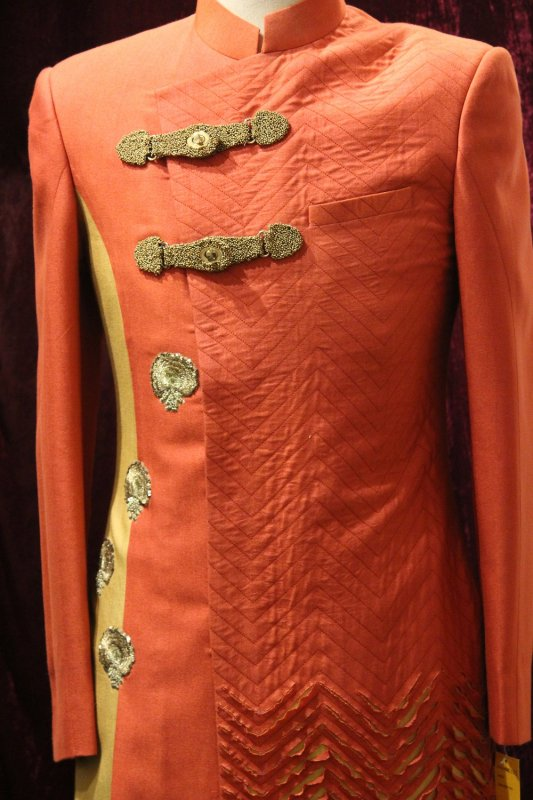 orange_partywear_ripped_jacket