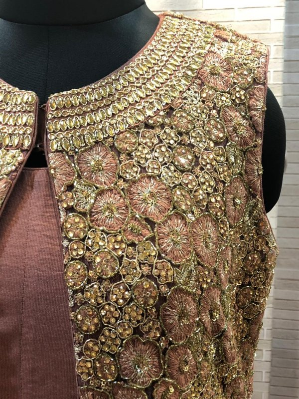heavy_hand_embroidery_jacket_with_plain_gown