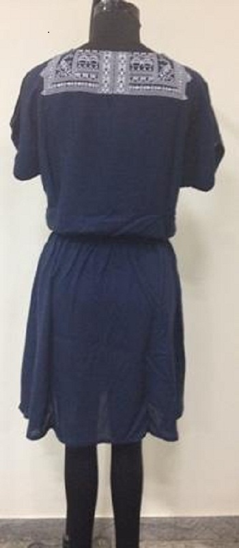 navy_blue_rayon_dress_with_tessles