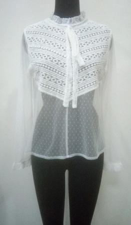 white_color_women_dress_with_net_emboroidered