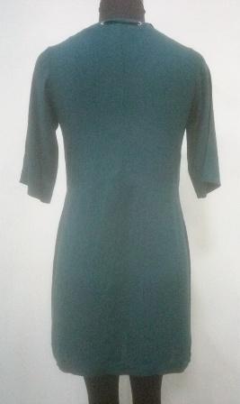green_color_neck_laces_women_dress