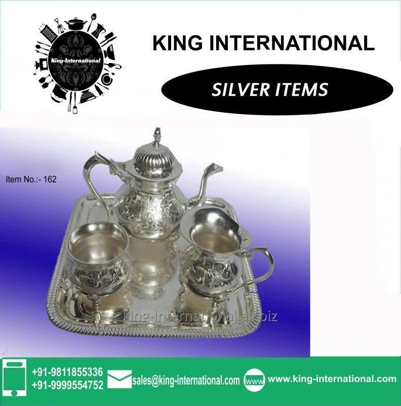 brass_silver_bowls_set_of_4_pcs_with_spoons_tray