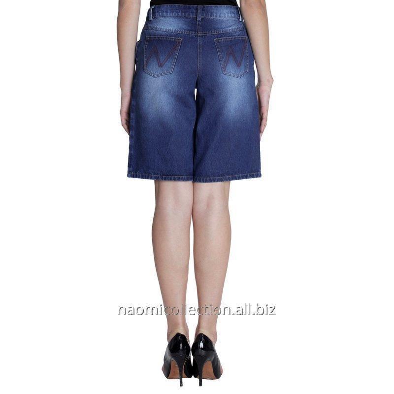 pleated_denim_shorts