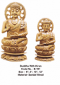 Sandalwood Buddha Sculpture