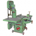 Wood Working Machine With Band Saw Attach