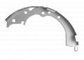 Fabricated brake shoe
