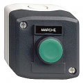 Plastic control stations for control and signalling units Ø 22 from the Harmony® XB5 range