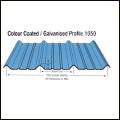 Colour Coated Profile 1050