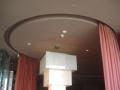 Circular motorised curtain