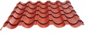 Flexible wavy tiles
