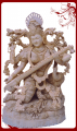 Shivaniwood sitting saraswati,saraswati statue,wood carvings.