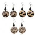 Hanging style earrings