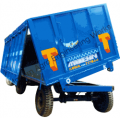 Four Wheel Tipping Trailer (Turn Table-Double Axle)