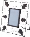 Iron Leaf Photo Frame