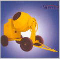 Concrete Mixer - 10/7 CFT (Full Bag) Tiling Type Hand Feed
