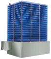 Frp Natural Draft Cooling Tower Square Model