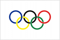 Flags-Olympic Movement