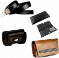 Leather Mens Wallet Belt &Mobile Pouch