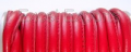 Stitched Leather Cords- Red