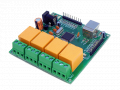 4 channel USB Relay Board with 16 Digital/Analog I/O USB Data Acquisition Card