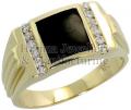 Gold Mens Ring 03