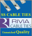 SS PVC Coated Cable Ties