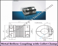 Metal Bellow Coupling With Collet Clamp (KB2 / 1 to 100)