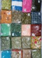 Ladies Dress Material Lot 34 pcs ( MRP 750 to 1750)