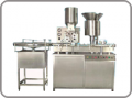 Automatic High Speed Dry Injectable Powder Filling with Rubber Stoppring Machine Model : KPFR : 120-240
