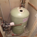 Immersion Heater Type Hot Water Boiler