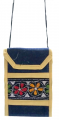 Traditional Women's Mobile Pouch Dark Blue(pouch03a)