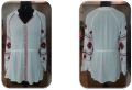 Red Printed white color Women Tunics