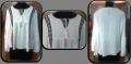 Black side Strips white color Women Tunic
