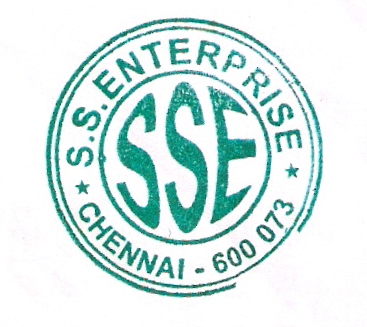 S.S. Enterprise, Sole Proprietorship, Chennai