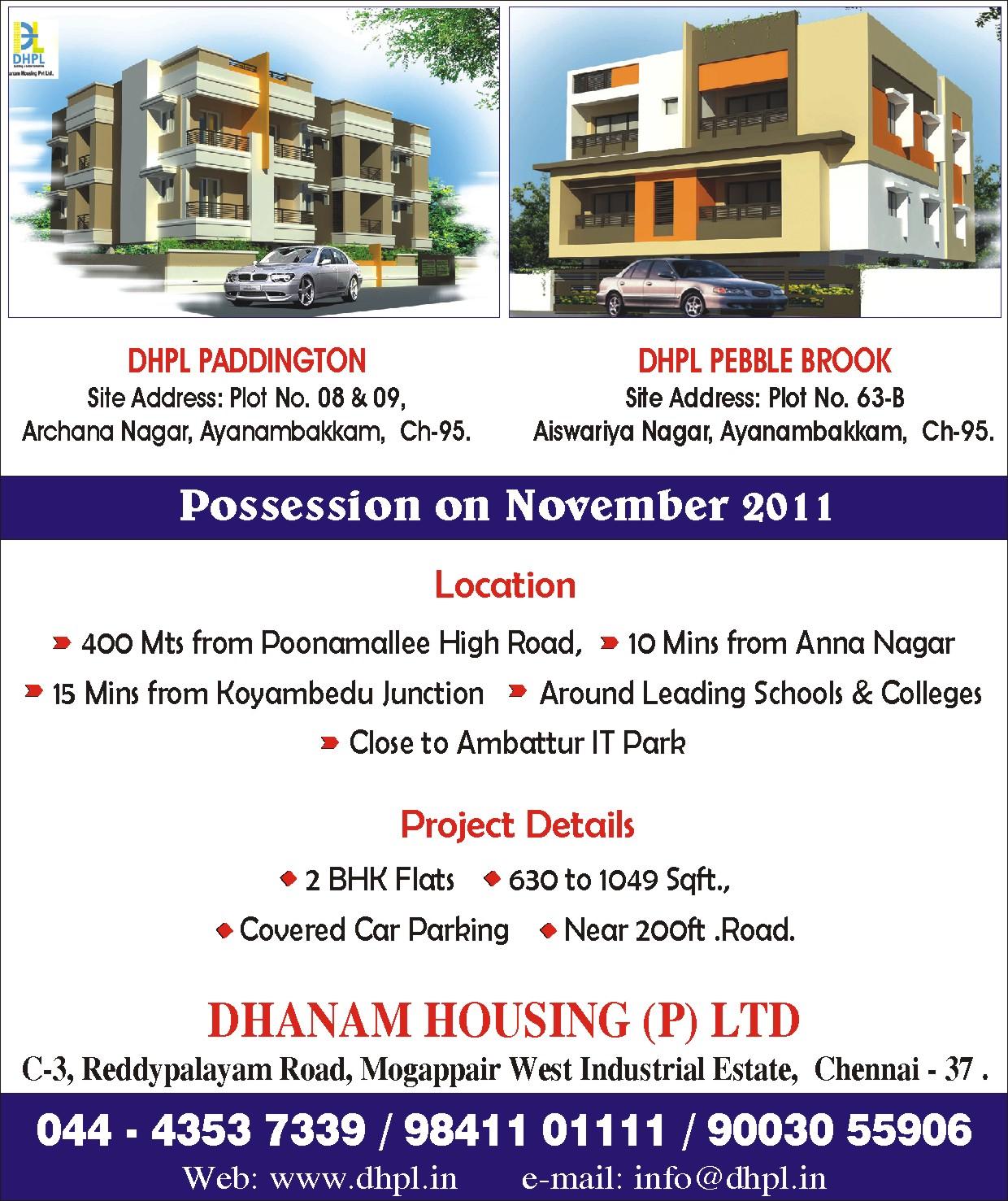 Dhanam Housing, Company, Chennai