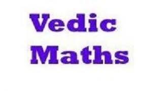 Order Vedic Mathematics Offline/Online training