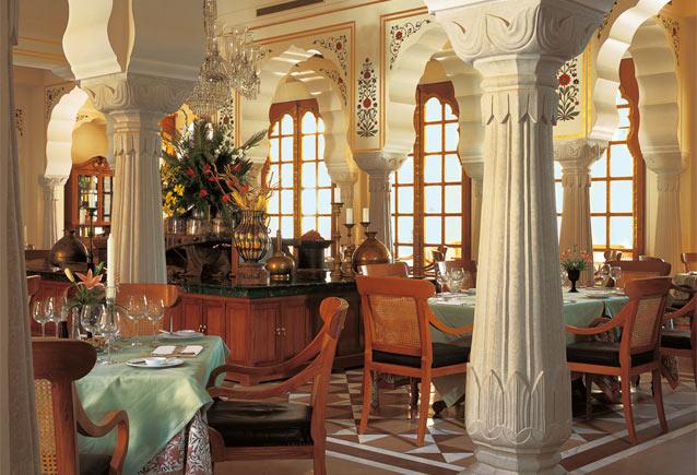 Order Hotel restaurant - Surya Mahal and Courtyard
