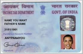 Order Pancard issue