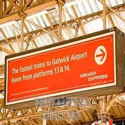 Order Railway Advertising