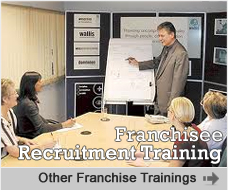 Order Franchisee Recruitment Training