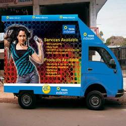 Order Mobile branding hoardings