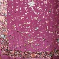 Order Hand Parsi Embroidery (Bishnupuri Silk Acid Paint)