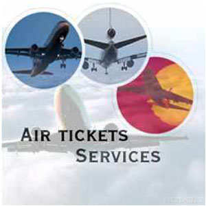Order Air tickets booking