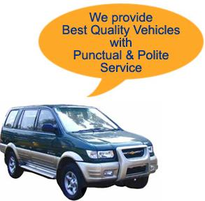 Order Car rental servises