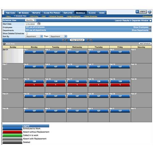 Order Holiday Management Module