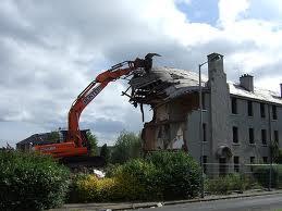 Order Demolition services